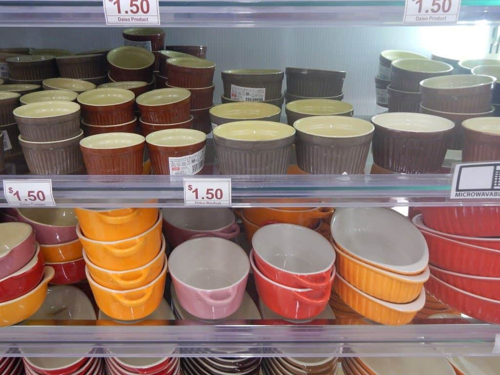 Little Bowls at Daiso