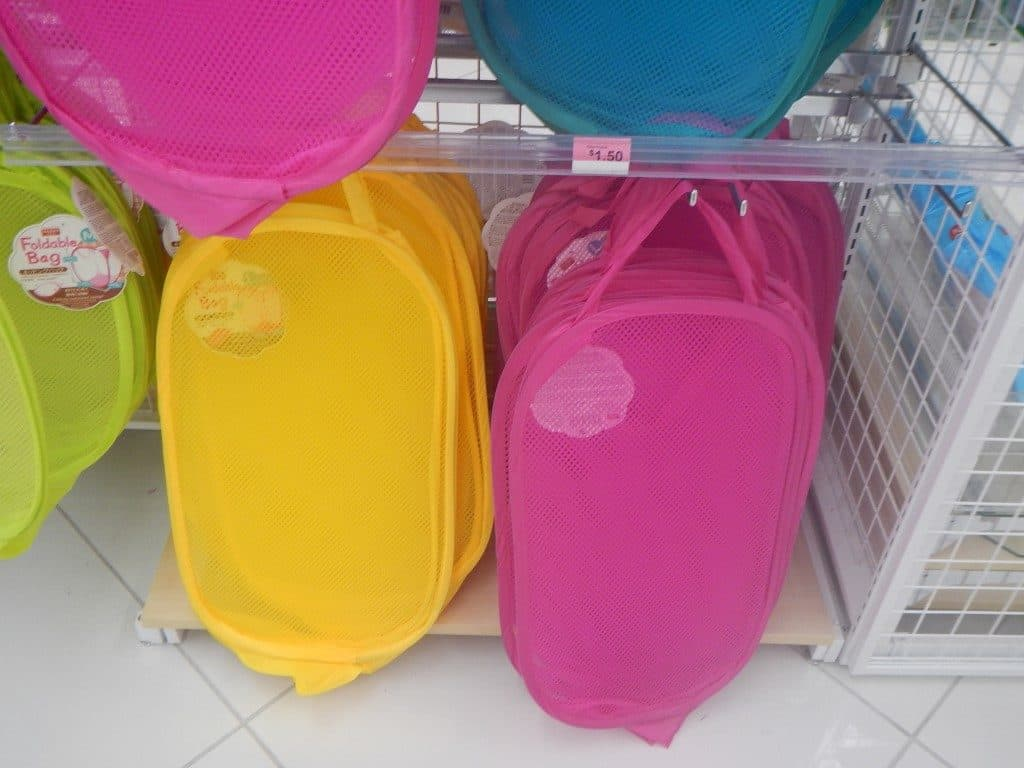 Pop Out Hampers at Daiso