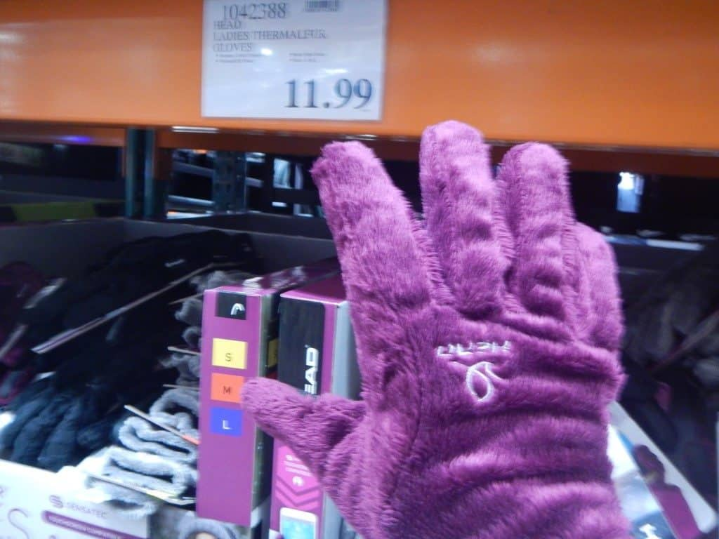 SO SOFT gloves at Costco