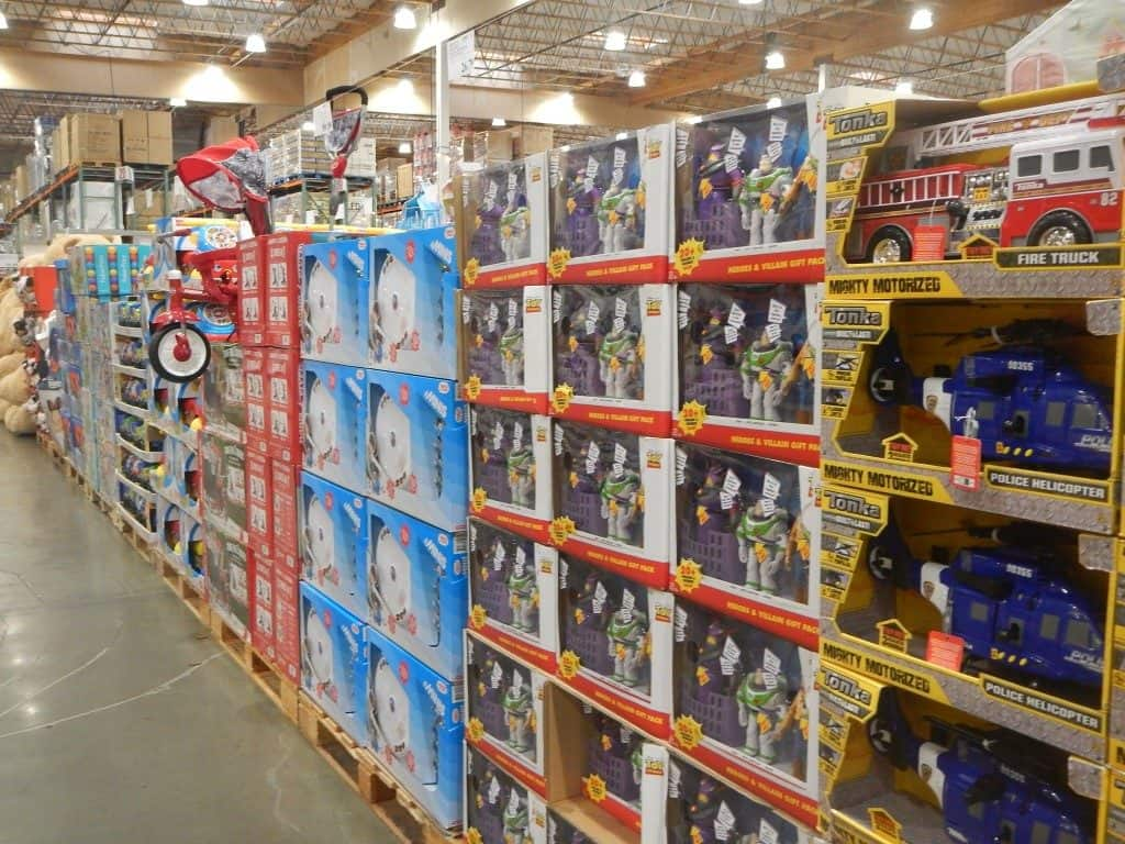 Toys at Costco