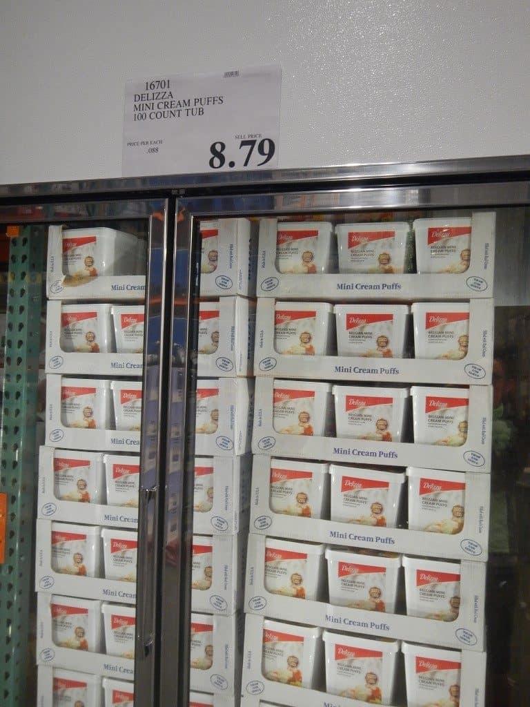 Cream Puffs at Costco