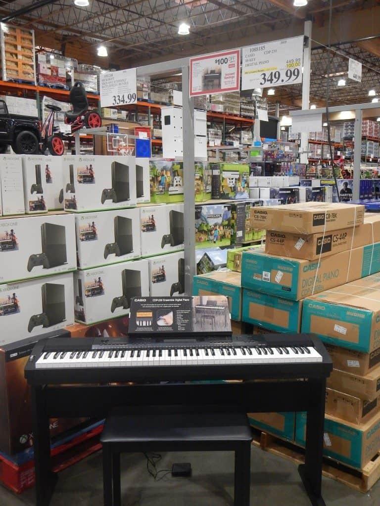 Piano at Costco