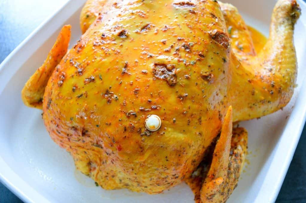 Mempersiapkan Ayam untuk Dipanggang