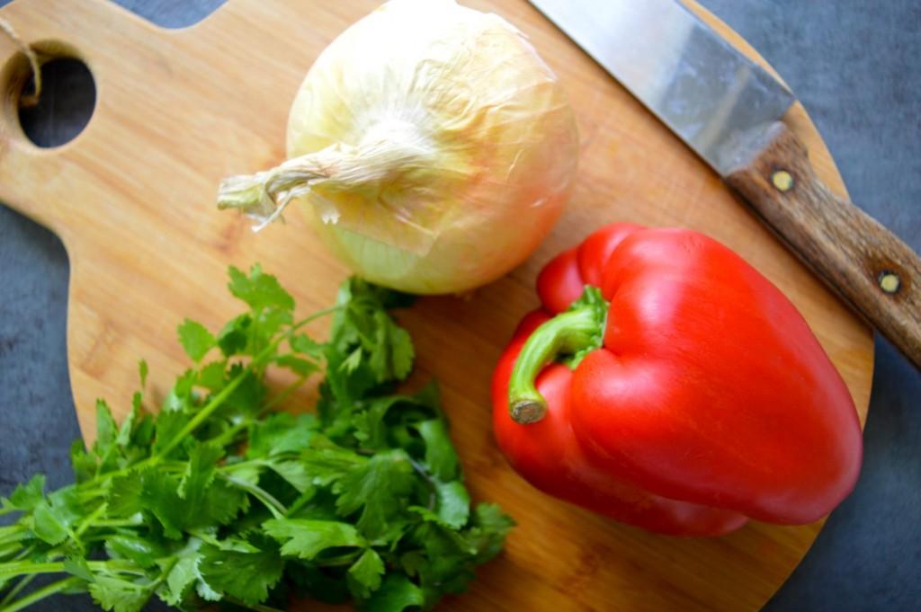 Chorizo Rice Ingredients