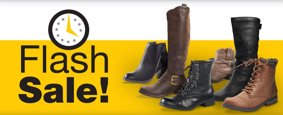 Fashion Boots - Flash Sale
