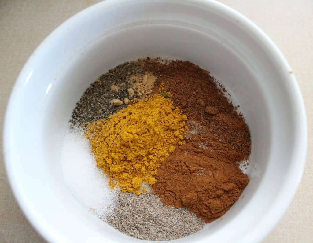 Spices for Pumpkin Soup