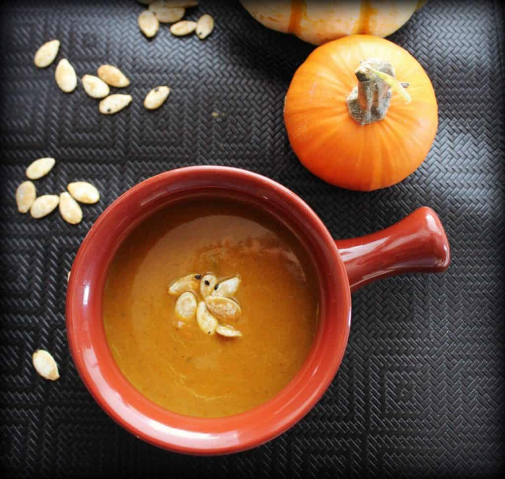 Completed Pumpkin Soup