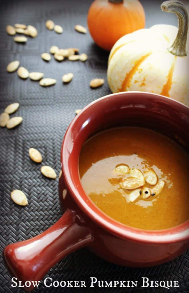 Slow Cooker Pumpkin Bisque Recipe