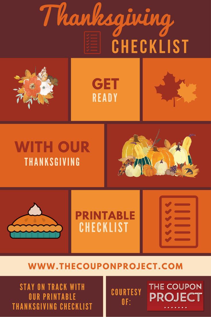 Thanksgiving Planning Checklist {Free Printable}