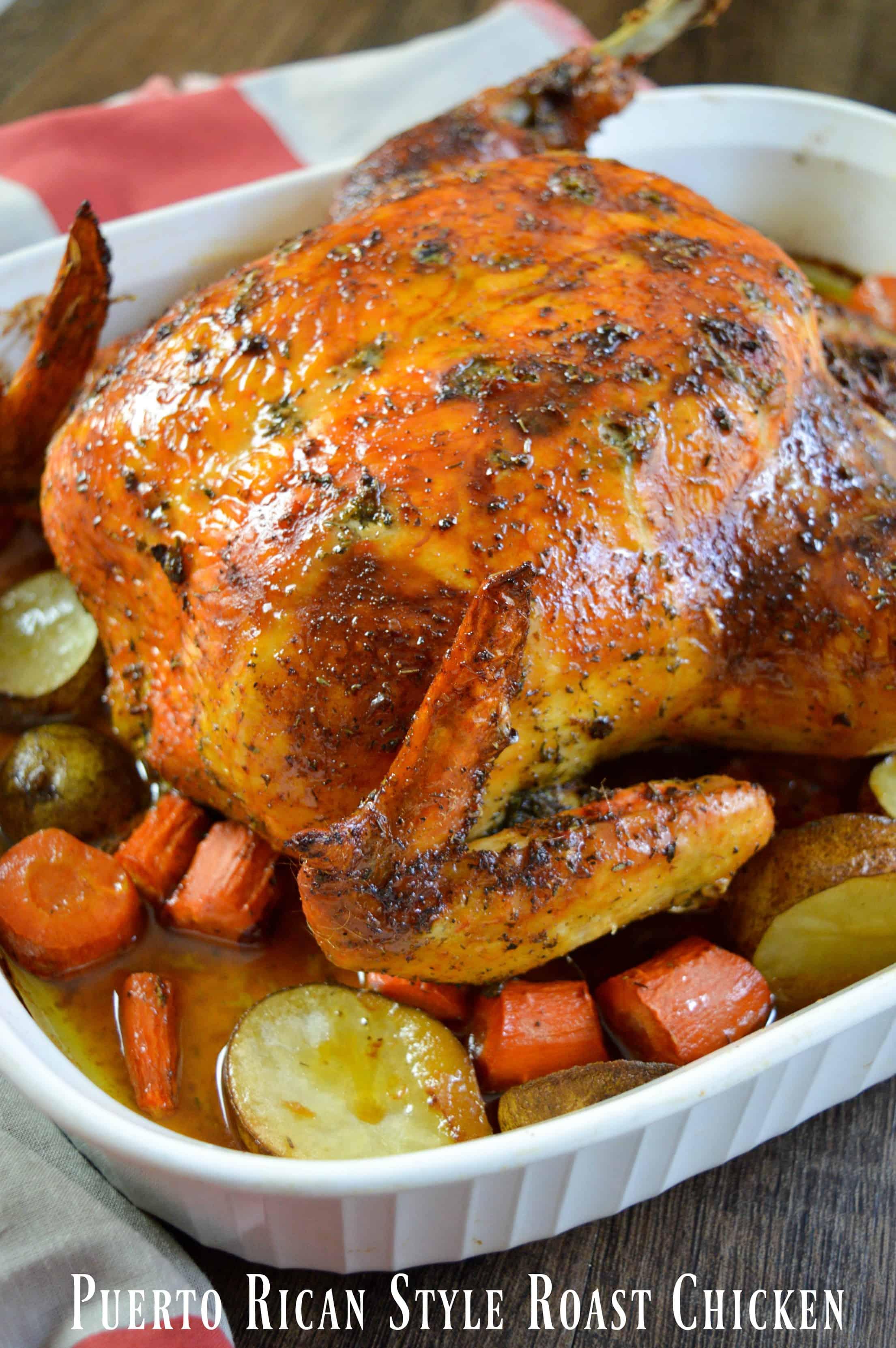 Watch Spanish-Style Roast Chicken video