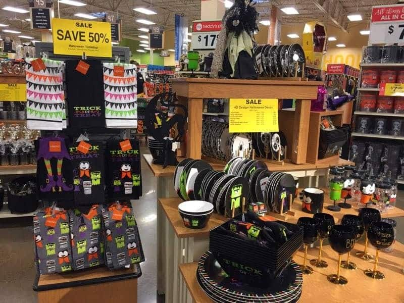 Halloween Decor At Fred Meyer
