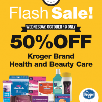 Fred Meyer 50% off Flash Sale