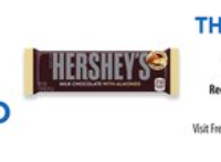 Fred Meyer/QFC/Kroger Download: FREE Hershey's with Almonds Bar (10/21 only)