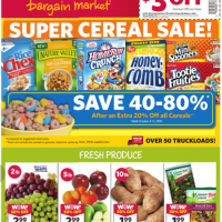 Grocery Outlet Ad 10/5 – 10/11: Super Cereal Sale + More!