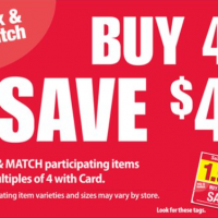 QFC: *HOT!* Buy 4, Save $4 Mega Event (through 10/25)