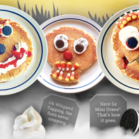 IHOP: Free Scary Face Pancake for Kids on 10/31