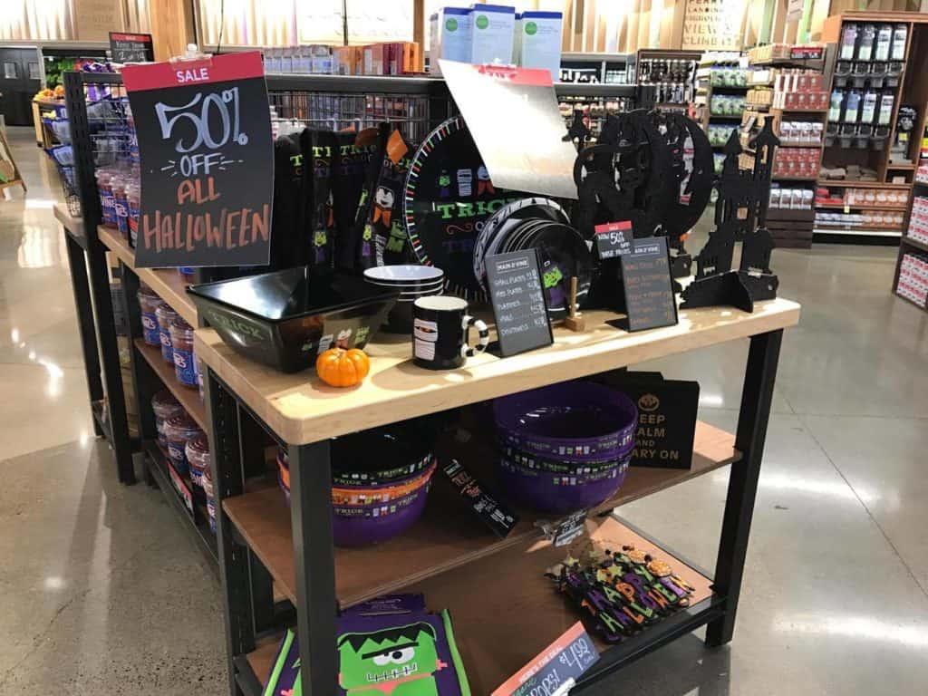 Halloween Display 50% off