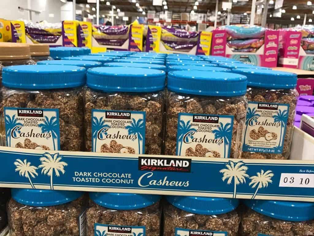 Cashews at Costco