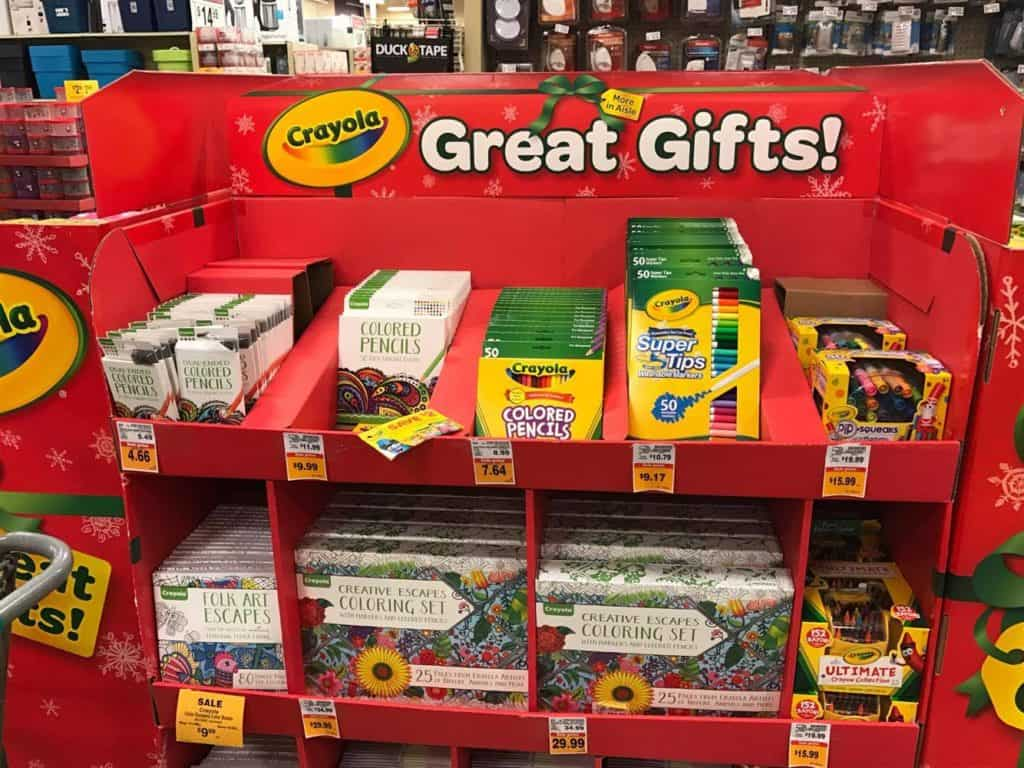 Crayola - 50% off Fred Meyer Black Friday Sale