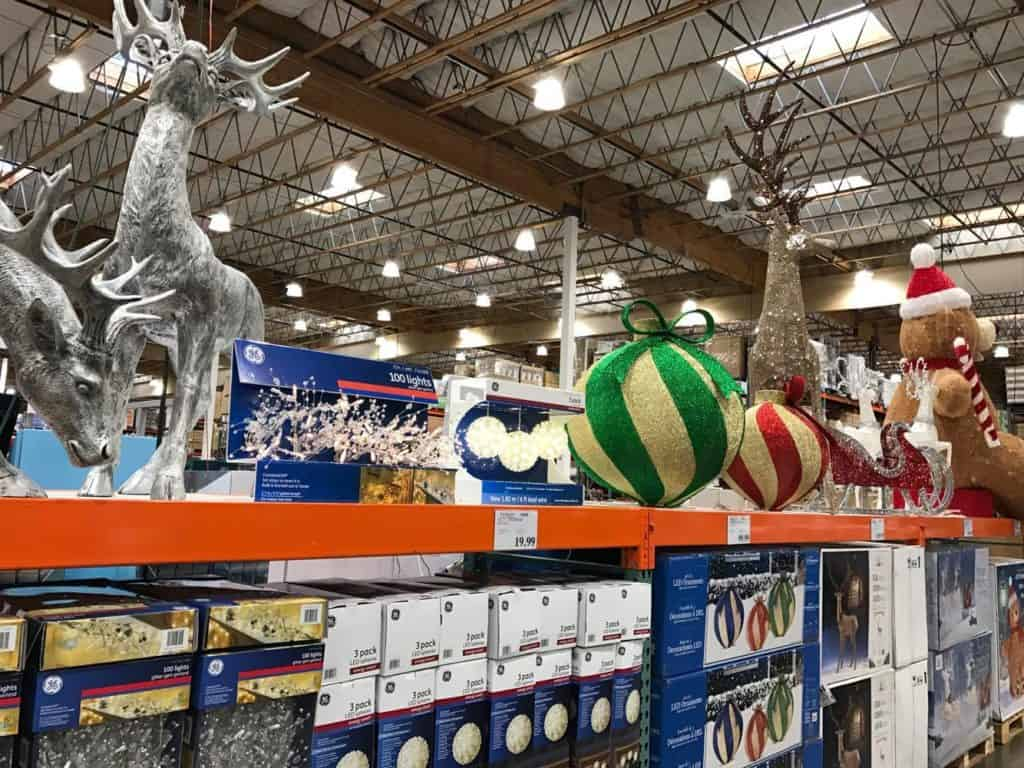 Giant lawn ornaments at Costco