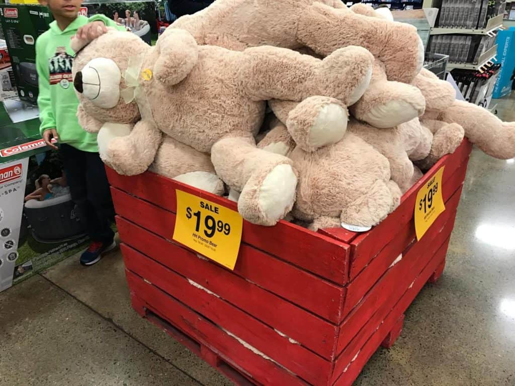 Large Plush for $10