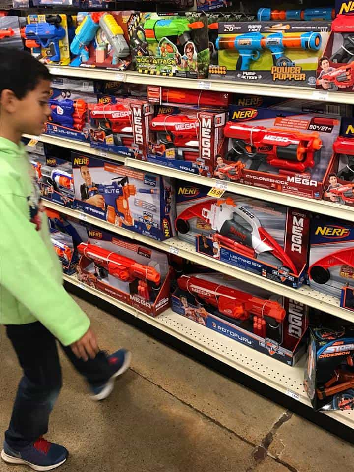 Nerf Guns at Fred Meyer Black Friday Sale