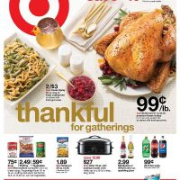 Target: Save BIG on Thanksgiving items in this week's ad (plus, $10 off $50 coupon!)