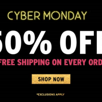 The Body Shop: 50% off + FREE Shipping