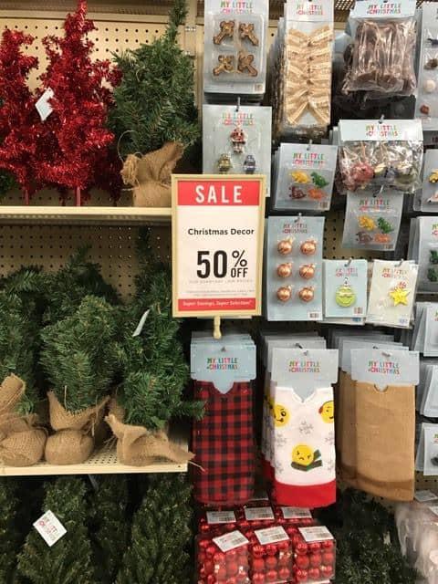 Christmas Decor on Sale at Hobby Lobby