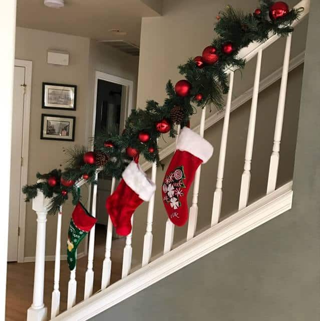 Christmas Stairwell