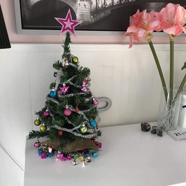 Mini Christmas Trees at Hobby Lobby