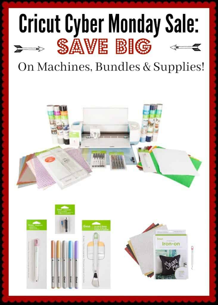 Cricut Cyber Monday - Huge Savings Sitewide!