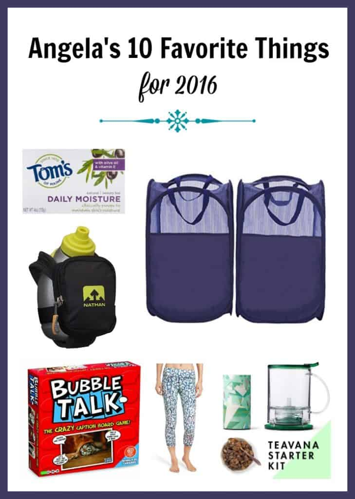 My Top 10 Favorite Things for 2016