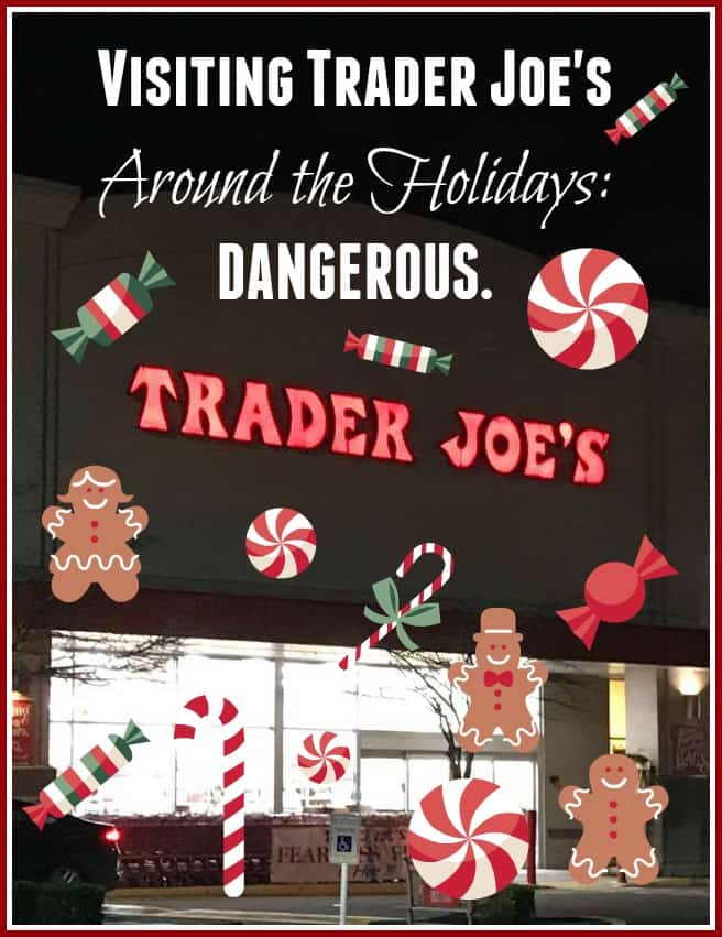 Trader Joe's at Christmastime
