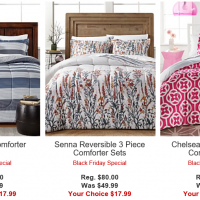 Macy's: 3-Piece Comforter Sets $17.99 (reg. $80) – through today only!