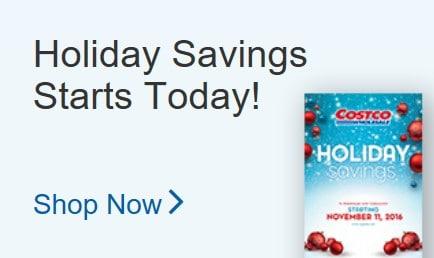Costco Holiday Savings