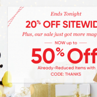 Disney Store Black Friday: up to 50% off Already-Reduced Items