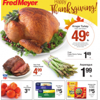 Fred Meyer Coupon Deals 11/20 – 11/26: Turkey $0.49/lb & More!
