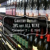 Grocery Outlet Wine Sale: Save 20% November 2 – 8
