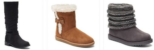 kohls-girls-boots