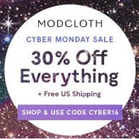 ModCloth Cyber Monday: Cute clothes and gifts under $20 + FREE shipping!