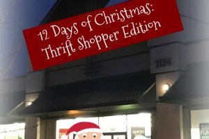 The 12 Days of Christmas (Thrift Shopper Edition)