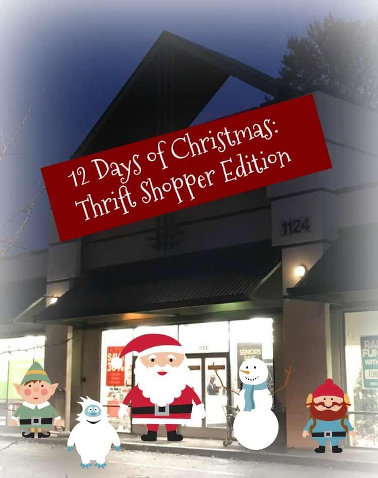 12 Days of Christmas: Thrift Shopper Edition