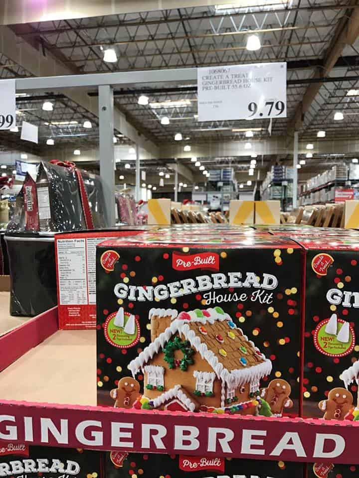 Gingerbread House Kit at Costco