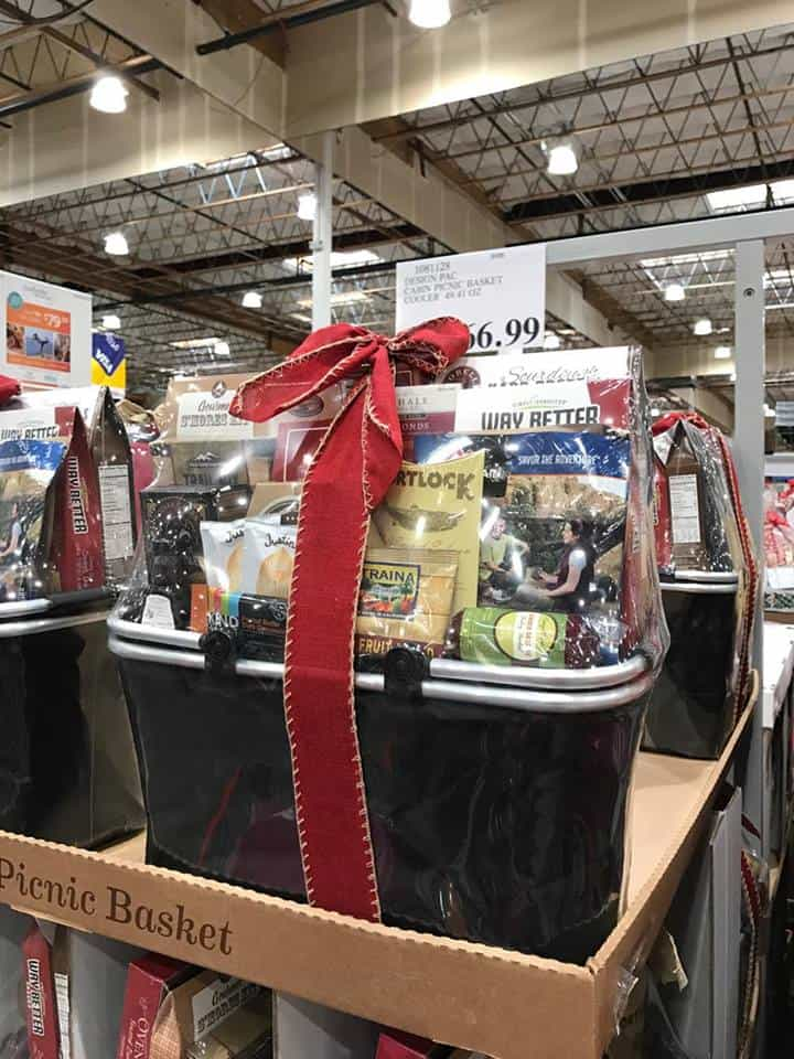 Holiday Gift Baskets at Costco