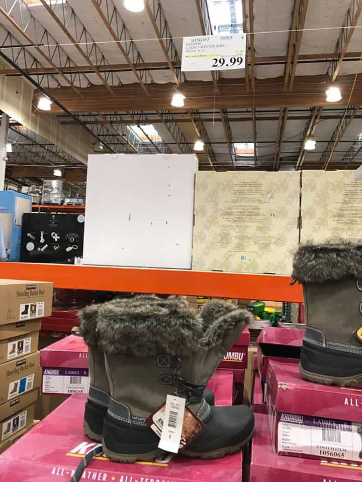 Women's Winter Boots at Costco