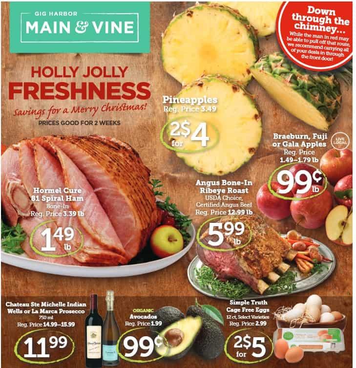 Main & Vine Ad 12/14 - 12/27