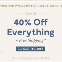 ModCloth: *HOT!* 40% off EVERYTHING + Free shipping (12/16 only)