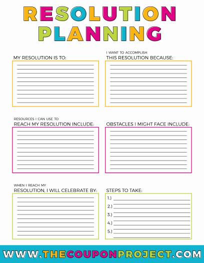 Resolution Planning