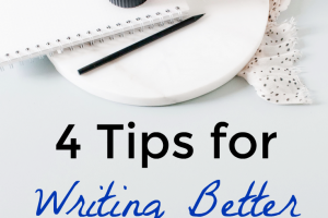 Four Tips for Writing Better New Year's Resolutions